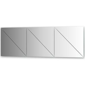 Зеркальная плитка Evoform Reflective с фацетом 10 мм, 50 х см, комплект 6 шт. (BY 1523)