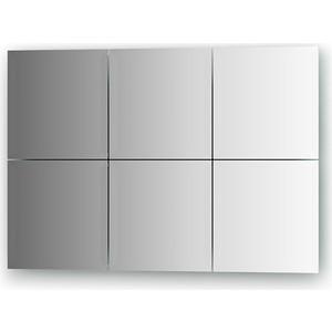Зеркальная плитка Evoform Reflective с фацетом 15 мм, 20 х см, комплект 6 шт. (BY 1527)