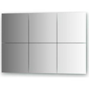 Зеркальная плитка Evoform Reflective с фацетом 15 мм, 25 х 25 см, комплект 6 шт. (BY 1529) зеркальная плитка evoform refractive с фацетом 5 мм 25 х 25 см комплект 4 шт by 1428