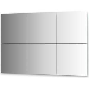 Зеркальная плитка Evoform Reflective с фацетом 15 мм, 50 х см, комплект 6 шт. (BY 1535)