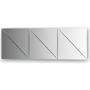 Зеркальная плитка Evoform Reflective с фацетом 15 мм, 25 х см, комплект 6 шт. (BY 1541)