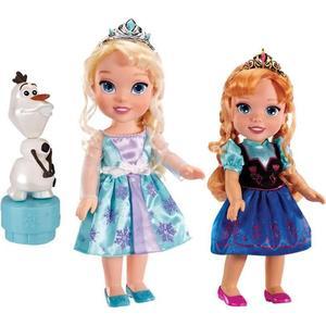 Игровой набор Disney Princess Холодное Сердце Принцессы Дисней 2 куклы и Олаф (310170) hansa amm20bimh