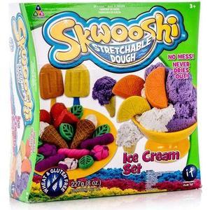 Набор для творчества Skwooshi Мороженое - масса лепки и аксессуары (S30024)