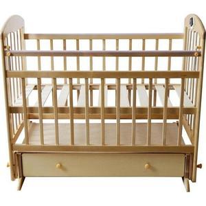 Кроватка Briciola Briciola-11 маятик поперечный ящик автоматическая светлая кроватка briciola 10 маятник продольный с ящиком авт светлая br1005