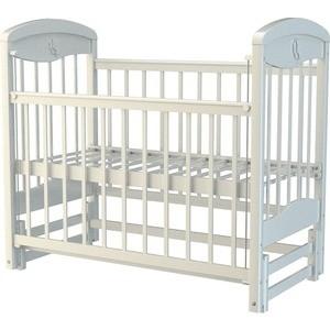Кроватка Briciola 2 маятник продольный автоматический белая цена