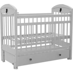Кроватка Briciola 3 маятник продольный ящик автоматическая белая кроватка briciola 9 маятник продольный автостенка белая br0901