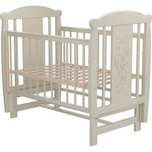 Кроватка Valle Bunny 04 маятник поперечный без ящика венге-слоновая кость кроватка valle bunny 04 маятник поперечный без ящика слоновая кость