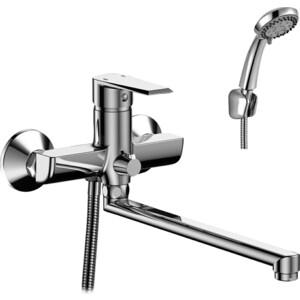 Смеситель для ванны Rossinka RS28 с поворотным изливом (RS28-33)