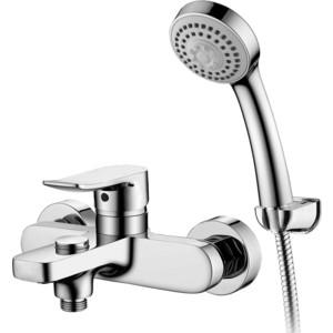 Смеситель для ванны Elghansa Hezerley с душем, хром (2365246) смеситель для ванны коллекция termo 6700857 однорычажный хром elghansa эльганза