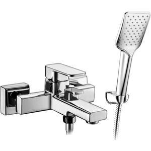 Смеситель для ванны Elghansa Mondschein с душем, хром (2320235) смеситель для ванны elghansa mondschein white белый 5302235 white
