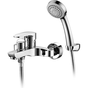 Смеситель Elghansa Monica New для ваны, с душем, хром (2322519) цены