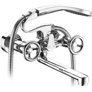 Смеситель для ванны Elghansa New Wave Sigma с душем, хром (2707595-20) смеситель elghansa new wave delta для ваны с душем хром 2707593