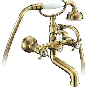 Смеситель для ванны Elghansa Praktic Bronze с душем, бронза (2322660-Bronze)