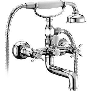 Смеситель для ванны Elghansa Praktic с душем, хром (2322660) milardo flores flosb00m02 для ванны с душем