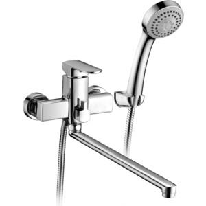 Смеситель для ванны Elghansa Scarlett с душем, хром (5322225) смеситель для ванны коллекция termo 6700857 однорычажный хром elghansa эльганза