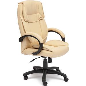 Кресло TetChair OREON кож/зам бежевый/бежевый перфорированный 36-34/36-34/06 кресло tetchair runner кож зам ткань черный жёлтый 36 6 tw27 tw 12