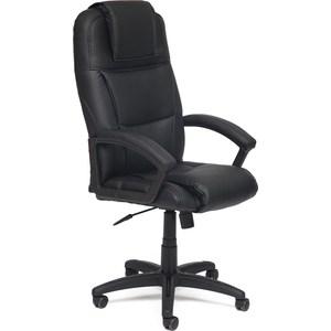 Кресло TetChair BERGAMO кож/зам черный 36-6 кресло tetchair iwheel кож зам черный красный