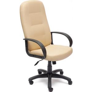 Кресло TetChair DEVON кож/зам бежевый/бежевый перфорированный 36-34/36-34/06 кресло tetchair runner кож зам ткань черный жёлтый 36 6 tw27 tw 12