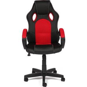 Кресло TetChair RACER GT кож/зам + ткань черный/красный 36-6/08 кресло tetchair runner кож зам ткань черный жёлтый 36 6 tw27 tw 12