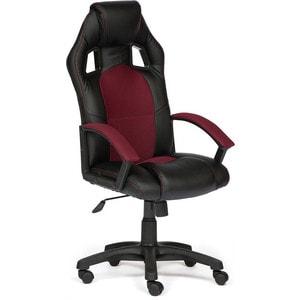 Кресло TetChair DRIVER кож/зам/ткань черный/бордо 36-6/13 кресло tetchair runner кож зам ткань черный жёлтый 36 6 tw27 tw 12