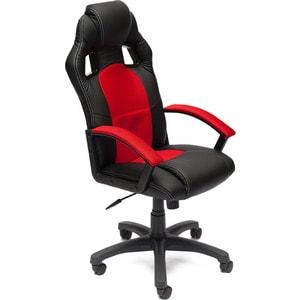 Кресло TetChair DRIVER кож/зам/ткань черный/красный 36-6/08 кресло tetchair runner кож зам ткань черный жёлтый 36 6 tw27 tw 12
