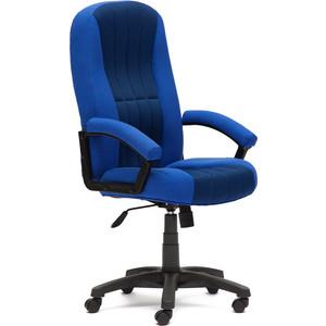 Кресло TetChair СН888 ткань/сетка синий/синий 2601/10
