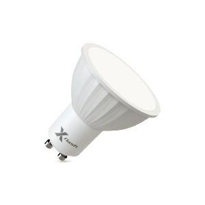 Энергосберегающая лампа X-flash XF-MR16-P-GU10-4W-3000K-220V Артикул 46089 лампа led mr16 gu5 3 5w 3000k 400lm 220v premium lamper