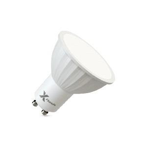 Энергосберегающая лампа X-flash XF-MR16-P-GU10-4W-4000K-220V Артикул 46072 лампа x flash xf mr16 gu5 3 6w 4000k 230v рефлектор gu53 4000к 420лм x6