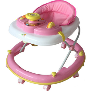 Ходунки BabyHit Clever розовый