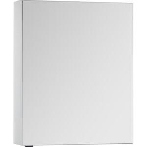 Зеркальный шкаф Aquanet Алвита 70 белый (184038) aquanet алвита 70 2 выдвижных ящика белый 184302