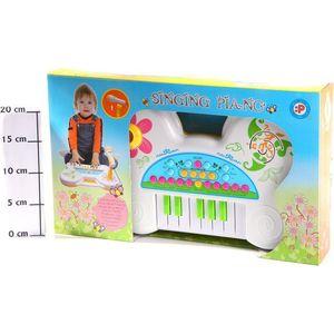 Музыкальный инструмент Potex на батар Синтезатор Singing piano 13клав арт 507B детский музыкальный инструмент сима ленд синтезатор с микрофоном музыкант green 1689051