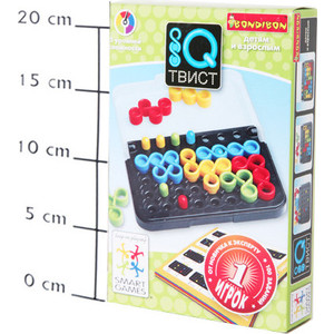 Логическая игра Bondibon IQ- Твист арт SG 488 RU