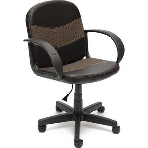 Кресло TetChair BAGGI кож/зам/ткань, черный/бежевый, 36-6/12 кресло tetchair baggi кож зам ткань черный бежевый 36 6 12