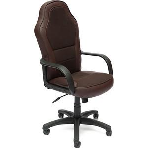 Кресло TetChair KAPPA кож/зам+ткань, коричневый, 36-36/08