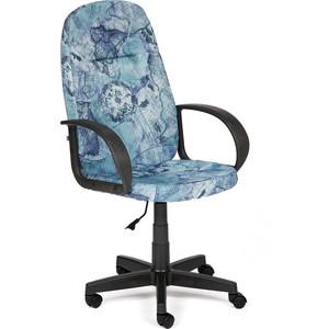 Кресло TetChair LEADER ткань, карта на синем