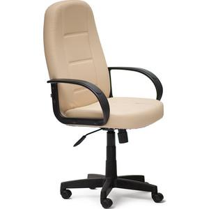цена на Кресло TetChair СН747 кож/зам, бежевый, 36-34