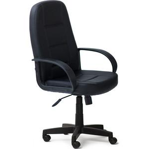 Кресло TetChair СН747 кож/зам, черный, 36-6 кресло tetchair runner кож зам ткань черный жёлтый 36 6 tw27 tw 12