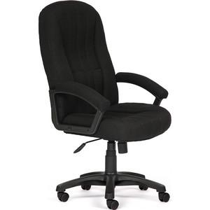 цена Кресло TetChair СН888 ткань, черный, 2603 онлайн в 2017 году