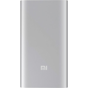 Внешний аккумулятор Xiaomi Mi Power Bank 5000mAh (Silver) xiaomi mi power bank 5000mah silver