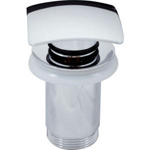 Донный клапан Rav Slezak Click-clack квадратная крышка, хром (MD0481) крышка квадратная 28 см amt gastroguss glass lids amte28