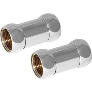 Соединение прямое Luxon гайка / гайка 1х1/2, 2 штуки (730SCH1004) соединение угловое luxon гайка гайка 3 4х1 2 2 штуки 740sch0504