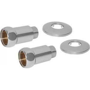 Соединение прямое Luxon гайка / штуцер 1х1, 2 штуки (731SCH1010) соединение угловое luxon гайка гайка 3 4х1 2 2 штуки 740sch0504