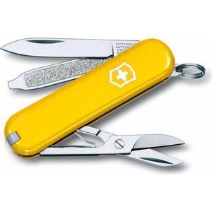 Нож перочинный Victorinox Classic 0.6223.8 (58мм 7 функций, желтый)