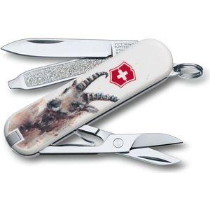 Фото - Нож перочинный Victorinox Classic LE2016 Capricor (0.6223.L1610) 7 функций нож перочинный victorinox classic le2016 rainforest walk 0 6223 l1601 7 функций