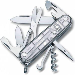 Нож перочинный Victorinox Climber 1.3703.T7 (91мм, 18 функций, полупрозрачный, серебристый)