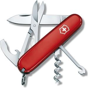 Нож перочинный Victorinox Compact 1.3405 (91мм 15 функций, красный)
