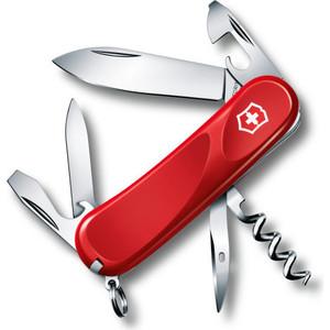 Нож перочинный Victorinox Evolution 10 2.3803.E (85мм, 14 функций, красный)
