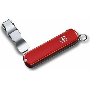Нож перочинный Victorinox Nail Clip 582 0.6453 (65мм, 4 функции, красный)