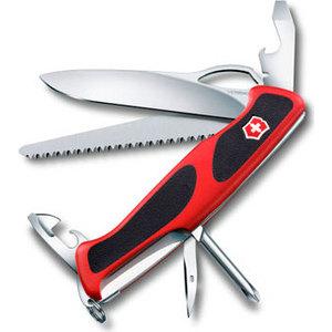 Нож перочинный Victorinox RangerGrip 78 0.9663.MC (130мм, 12 функций, красно-чёрный)