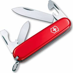 Нож перочинный Victorinox Recruit 0.2503 (10 функций, 84мм, красный)